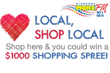 Win a $1000 Wairoa Shopping Spree, just by shopping local