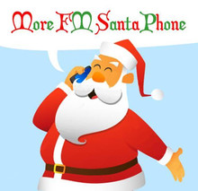 More FM Santa Phone