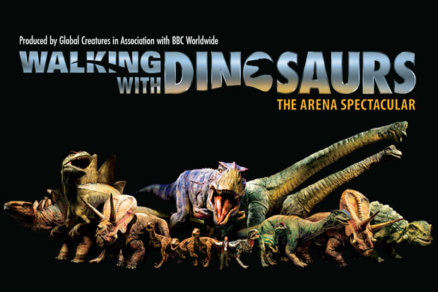 More FM Ticket to Walking with Dinosaurs