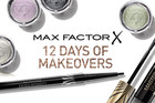 Max Factor 12 Days of Makeovers