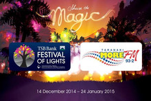 TSB Bank Festival of Lights 2015