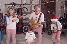 Family Makes Hilarious 'Christmas Jammie Time' Video