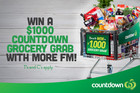 Win an exclusive Countdown Grocery Grab worth $1000!
