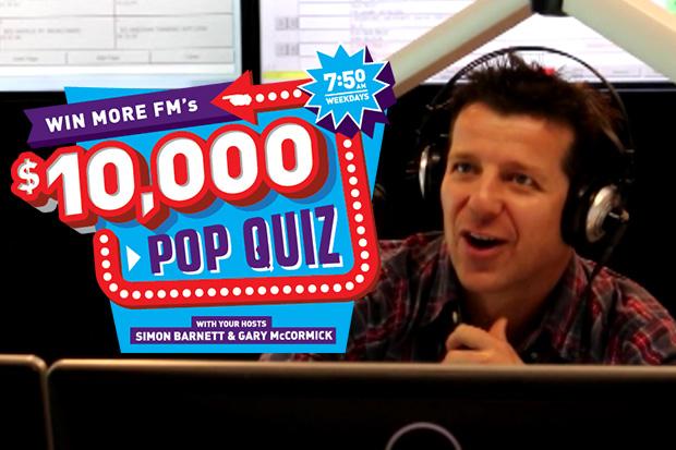 Courtney's $10,000 Pop Quiz Win
