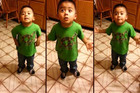 This Lil' Man Has Learned A Thing Or Two From His Dad When It Comes To Arguing With Mum