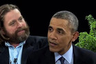 Zach Galifinakis & Obama's Hilarious Chat