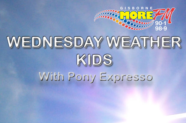 MORE FM Wednesday Weather Kids with Pony Expresso