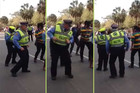 This Policeman Doesn't Only Prove That He Knows How To Have Fun, He Got Moves Too