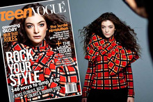 Oh Lorde - Teen Vogue Cover