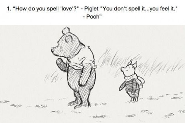 16 Thoughts on Life From Winnie The Pooh