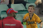 8-year-old shows true sportsmanship, gives away foul ball and stops massive meltdown
