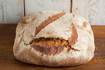 The Most Expensive Loaf: The Shepherd Loaf from Hobbs House Bakery in UK. Baked following a 55-year-old secret recipe using organic spelt flour, spring water and Cornish sea salt. $35 per piece.