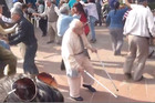 This Old Man Refuses To Dance With His Crutches