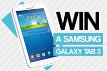 Win a Samsung Galaxy Tab 3 with MusicLab
