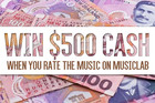 Win $500 Cash with MusicLab