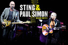Sting and Paul Simon On Stage Together in New Zealand