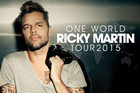 Ricky Martin is touring New Zealand in 2015!