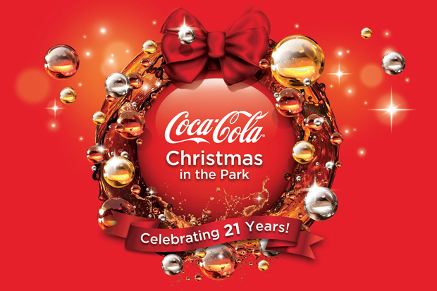 More FM VIP Ticket to Coca Cola Christmas in the Park!