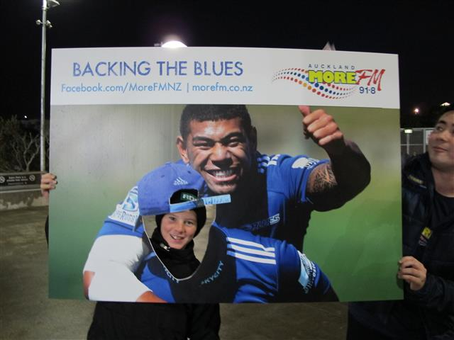 Photos from Blues Vs Chiefs with our More FM Fan Frame!
