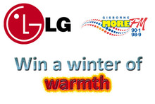 Win a Heat Pump with LG AIR Gisborne