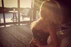 Jessica Simpson Posts Honeymoon Shots