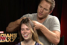 Chris Pratt Braids Girls Hair