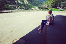 Singer Posts Snaps From Swiss Holiday