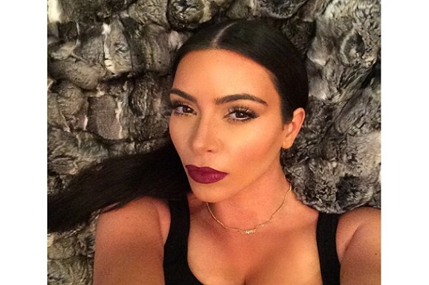 You're So Vain! Kim K Admits Taking 1200 Selfies!
