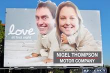 The Great Billboard Hijack with Nigel Thompson Motor Company!