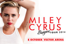 Miley Cyrus 'Bangerz Tour' Concert in New Zealand