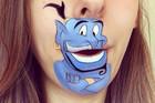 OMG Makeup Artist Turns Her Lips Into Cartoons