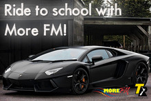 Ride To School With More FM!