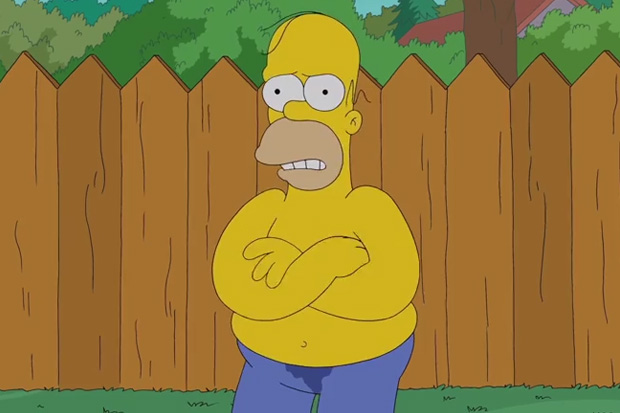 Doh! Homer Simpson Does The Ice Challenge