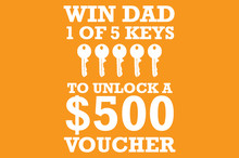 Win with Fraser Cove for Fathers Day