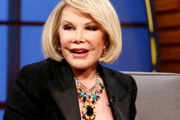 Doctors Make Decision To 'Take Joan Rivers Out Of Coma'