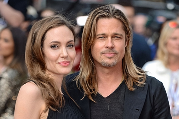 Brad Pitt and Angelina Jolie Wedding Photos Released