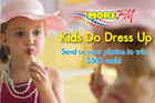 Show Off Your Kids Doing Dress Up, and WIN