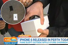 Guy That Buys First iPhone 6 Drops It On Live TV