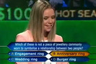 Australian 'Millionaire Hot Seat' Contestant Gets Confused Over Burger Rings