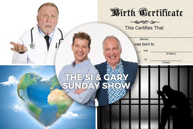 Si & Gary- Podcast Sunday 31 Jan 2016