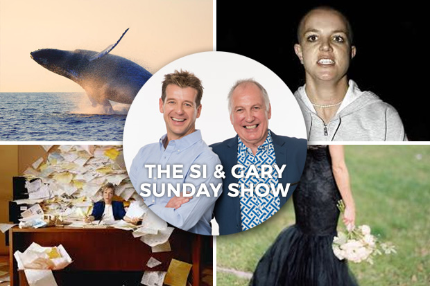 Si & Gary- Podcast Sunday 17 April