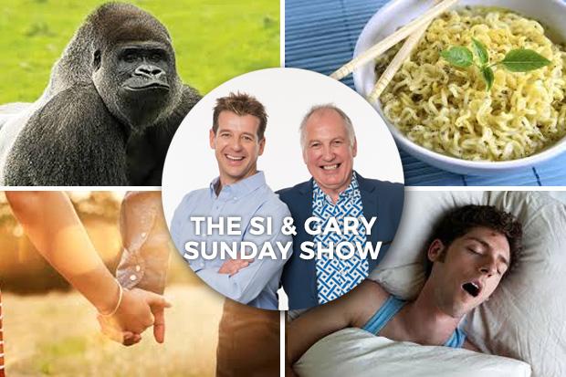 Si & Gary- Podcast Sunday 28 Aug