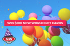 WIN $100 New World gift cards