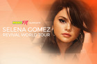 More FM supports Selena Gomez live in New Zealand