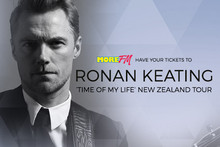 Win your More FM Tickets to Ronan Keating's NZ Tour