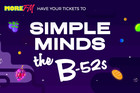 More FM supports Simple Minds & The B-52's NZ Tour