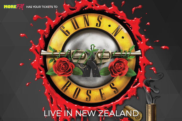 More FM has your tickets to Guns N' Roses in NZ