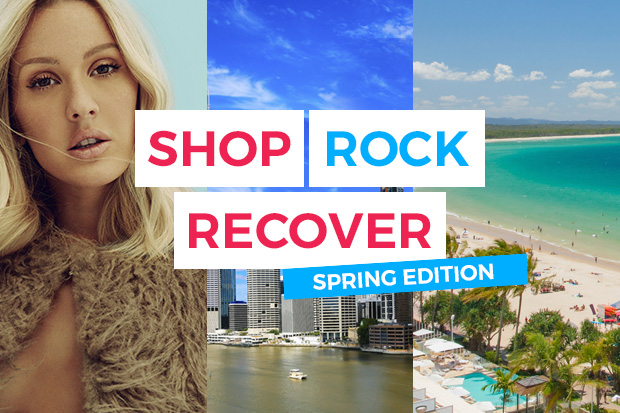 Shop, Rock, Recover - The Spring Edition!
