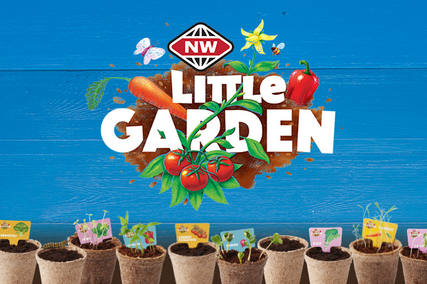 Be in to win all 24 Little Garden Seedling Kits