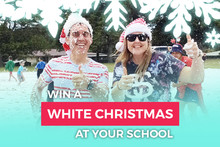 Win a White Christmas at your school